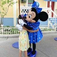 Hier kommt die Minnie Mouse