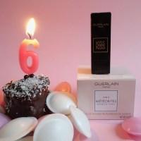 Guerlain Météorites Rainbow Pearls und KissKiss Lipstick Giveaway