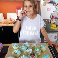 Von der Lütten, einem Backtag und Meerjungfrauen Cupcakes