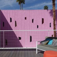 Color Your World - A Carnation Pink Wall