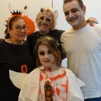 Von der Lütten, ganz viel Kunst-Blut und Halloween