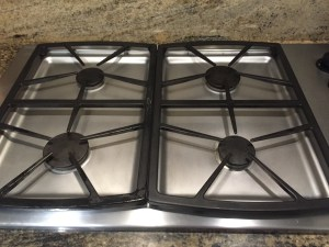 Cleaning: How to Clean a Gas Stove by Happy Family Blog