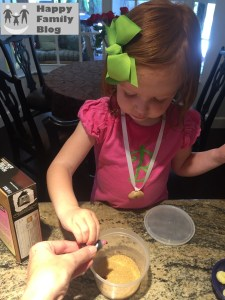 Cooking with a Toddler: Edible Glitter