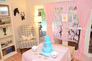 Let's Celebrate: Princess Party by Happy Family Blog - Cake Table