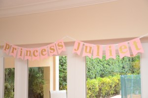 Let's Celebrate: Princess Party by Happy Family Blog Princess Sign