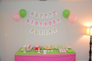 Let's Celebrate: Lilly Pulitzer Birthday Party by Happy Family Blog