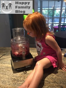 Cooking with a Toddler: Berry Ice Cream by Happy Family Blog