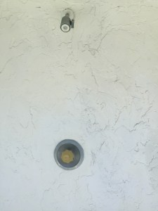 Updating Outdoor Shower by Happy Family Blog