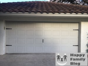 Garage Door Makeover by Happy Family Blog
