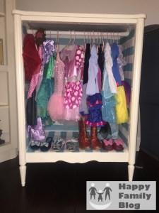 DIY Dress up Closet by Happy Family Blog