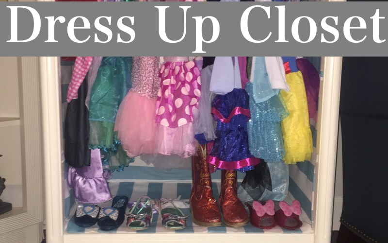 DIY Dress up Closet by Happy Family Blog
