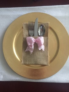 Happy Family Blog - No Sew Burlap Silverware Holder
