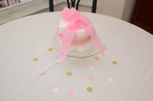 Pink and Gold Baby Shower by Happy Family Blog