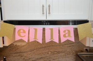 Pink and Gold Shower by Happy Family Blog