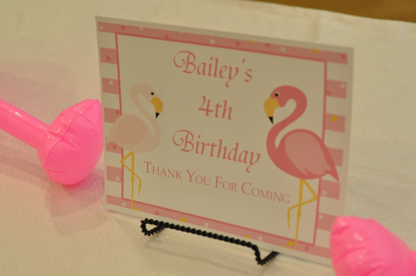 Flamingo Party Pink and Navy - by Happy Family Blog