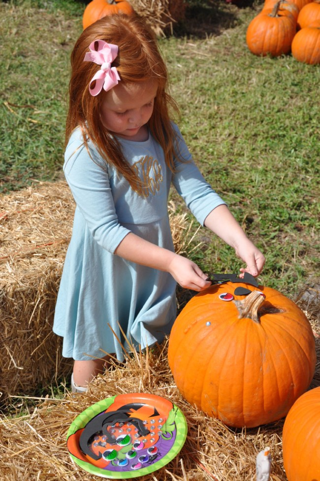 4 Steps for Hosting a Pumpkin Decorating Party by Happy Family Blog