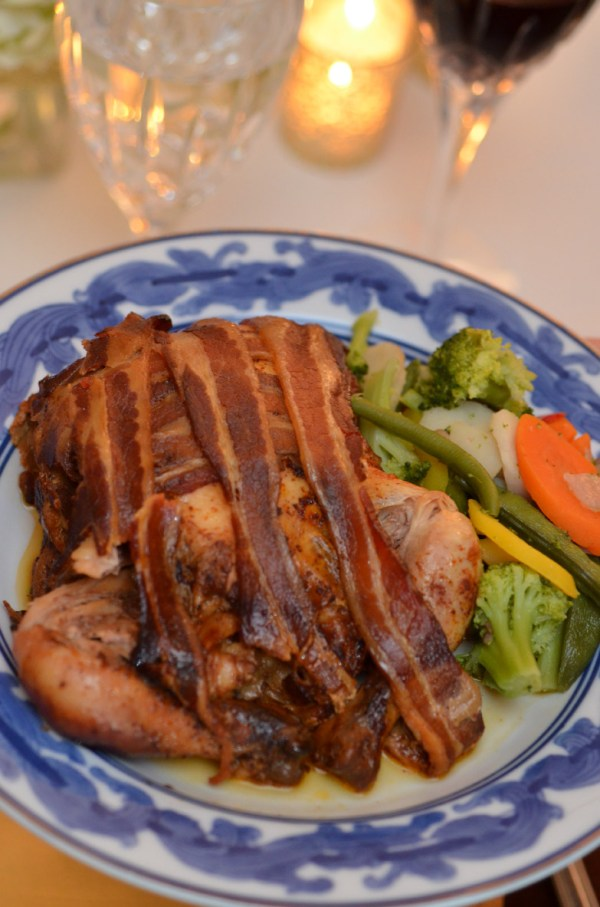 Easy Bacon Wrapped Cornish Hens in Crock Pot by Happy Family Blog