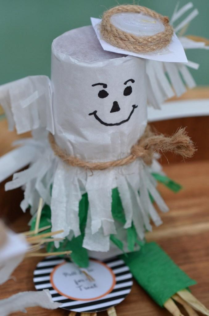 Scarecrow Mini Pinata Tutorial by Happy Family Blog