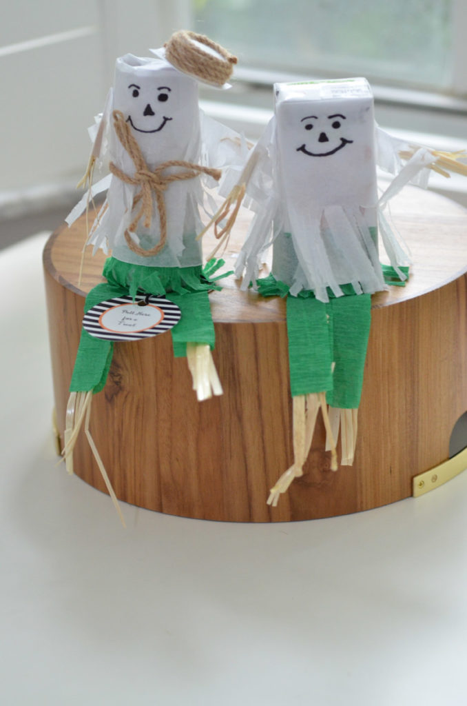 Scarecrow Mini Pinata Tutorial by Happy Family Blog