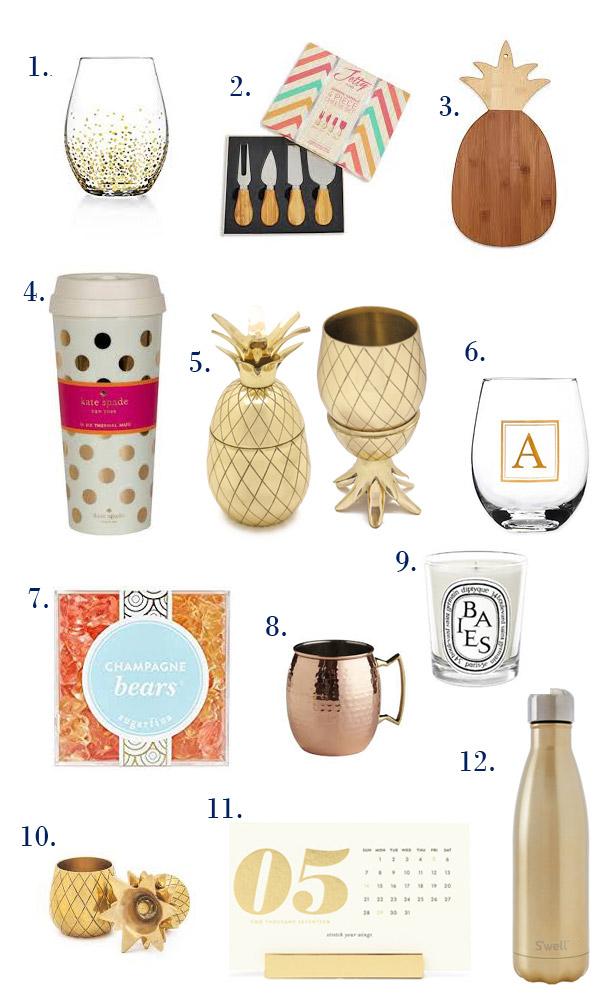 Hostess Gift Ideas by Happy Family Blog