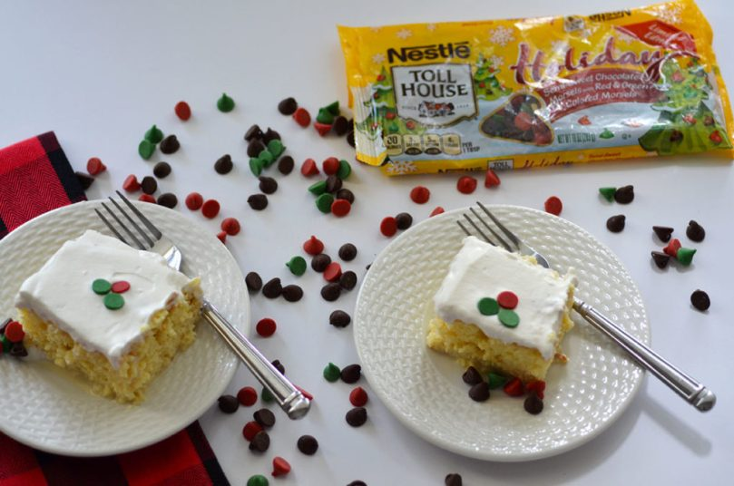 Easy + Festive Tres Leches Cake by Happy Family Blog