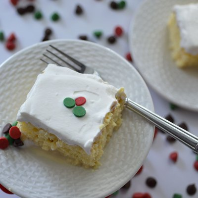 Easy + Festive Tres Leche Cake by Happy Family Blog