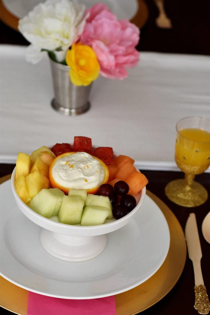 Healthy Orange Creamsicle Fruit Dip by Happy Family Blog