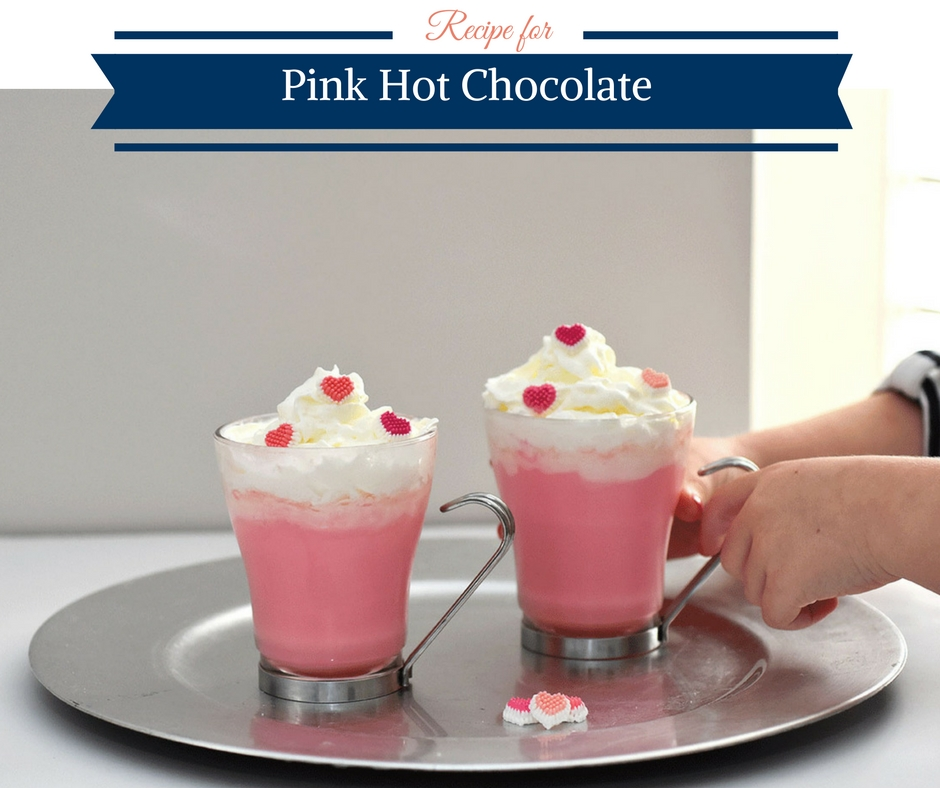 Recipe for Pink Hot Chocolate Mix
