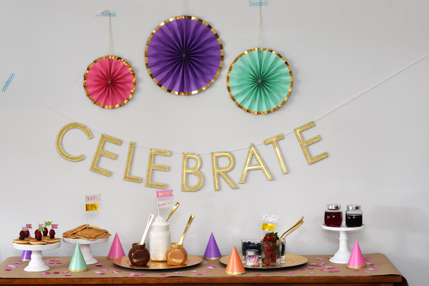 How to Host a Pancakes and Pajamas Party • Happy Family Blog