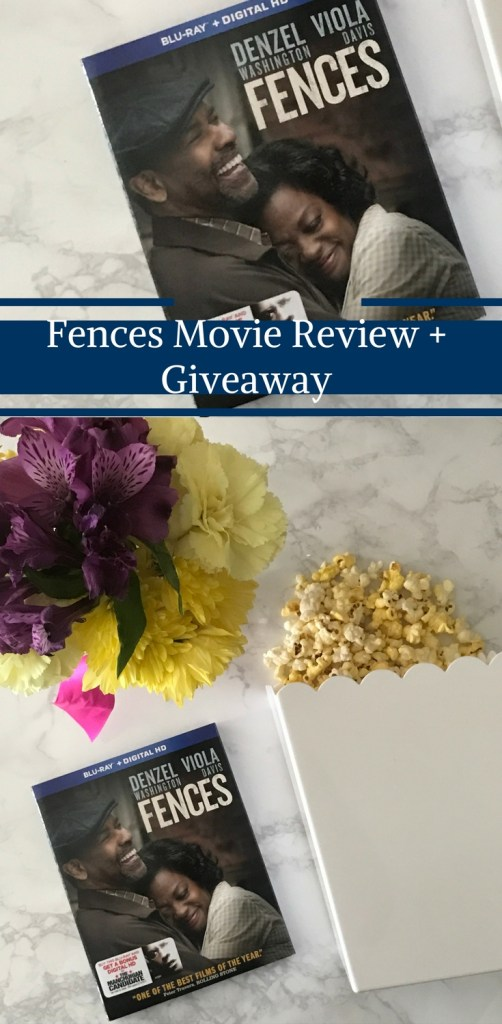 Fences Movie on DVD Review and Giveaway by Happy Family Blog