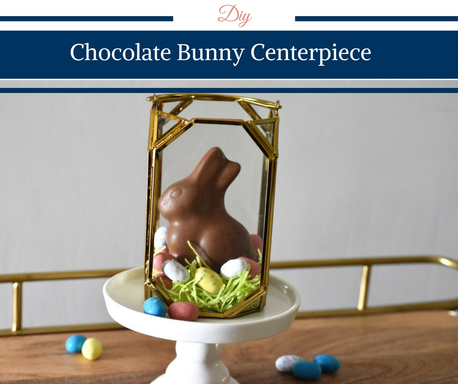 Chocolate Bunny Centerpiece