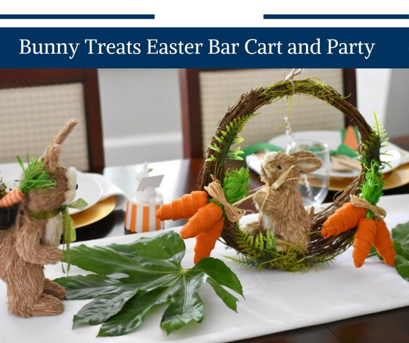 Bunny Treats Bar Cart And Easter Party