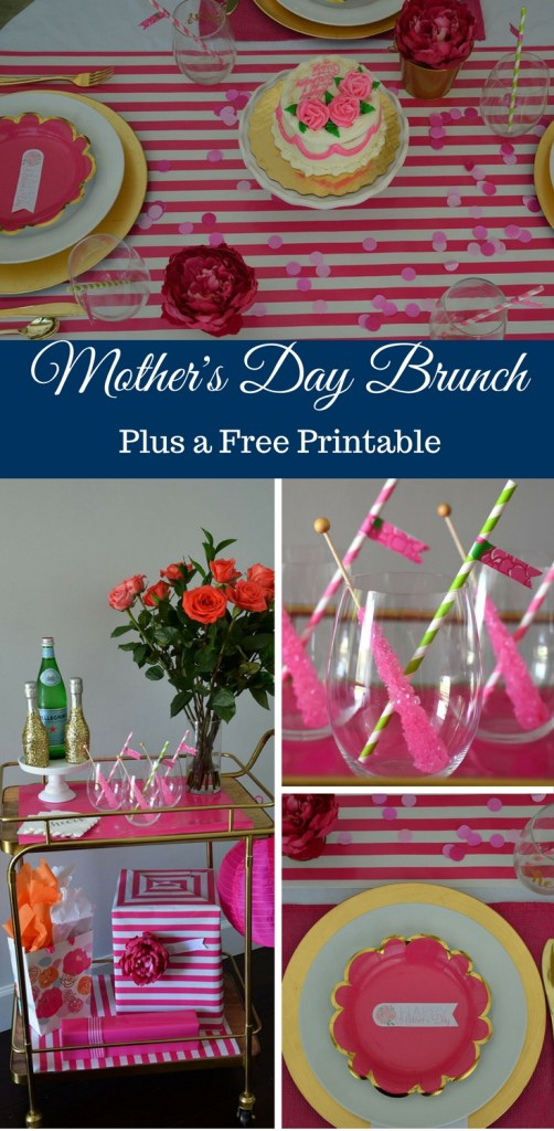 Host a Mother's Day Brunch by Happy Family Blog