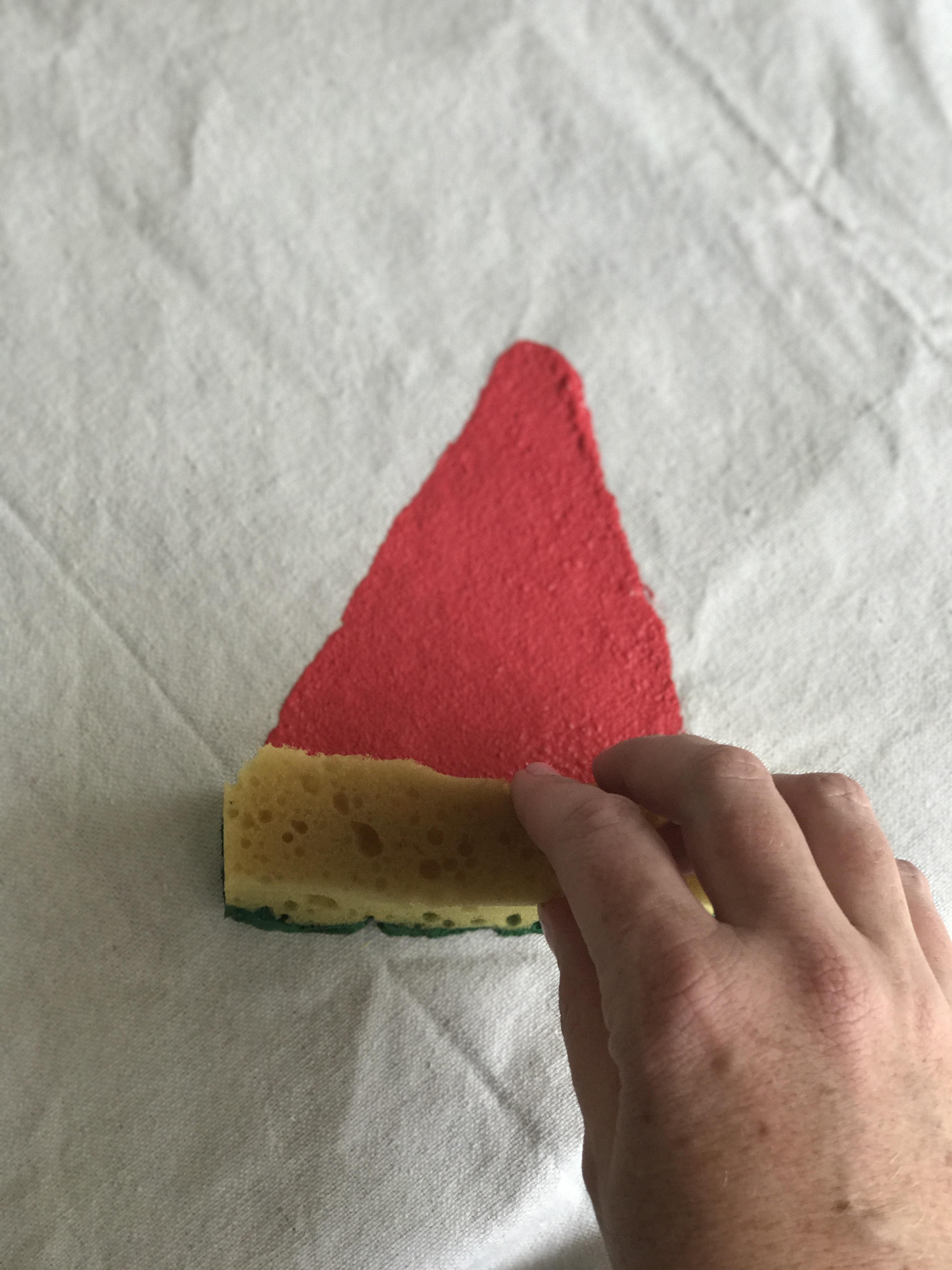 DIY Watermelon Picnic Blanket