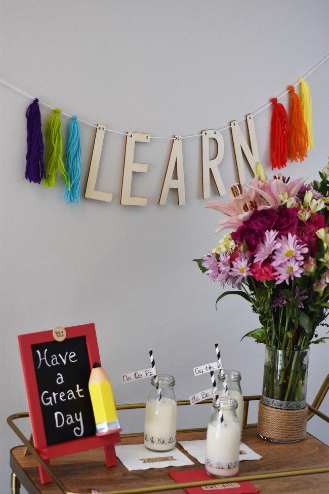 Host a Back to School Breakfast by Happy Family Blog