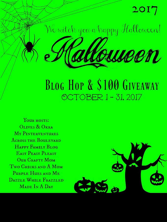 Halloween Blog Hop 2017 and Giveaway by Happy Family Blog