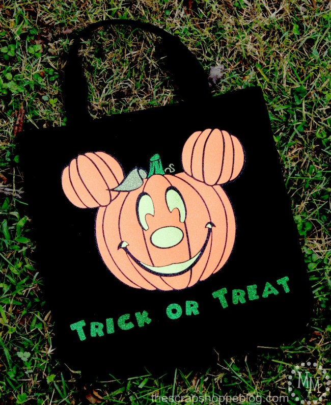 Mickey Treat Bag, Mickey Treat or Treat, Disney Trick or Treat Bag