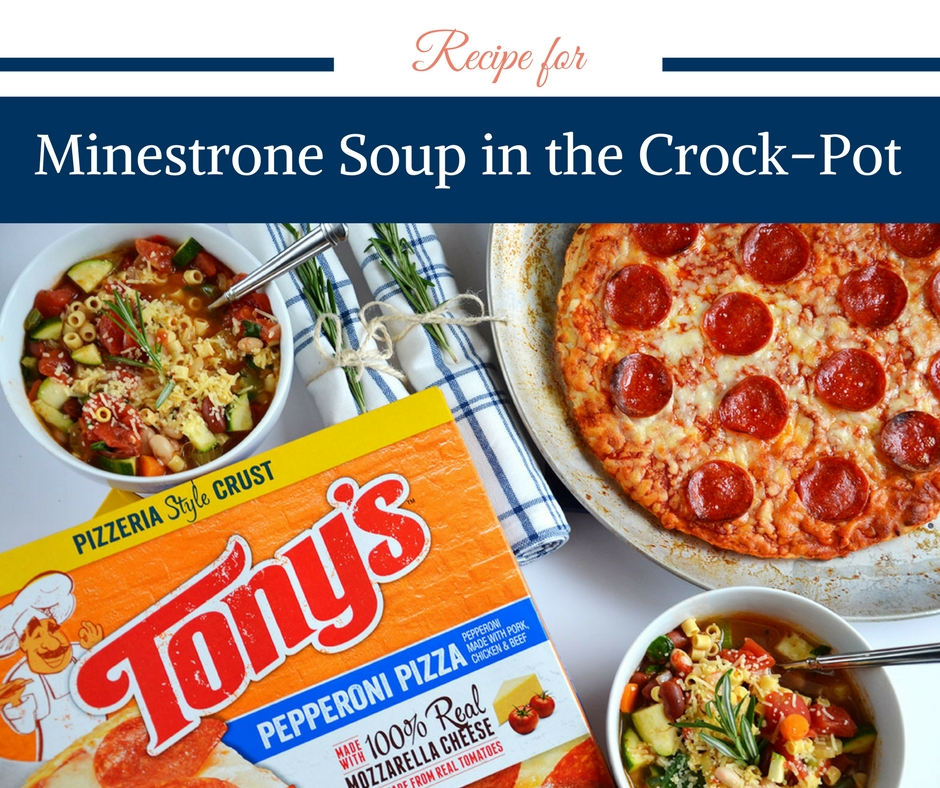Recipe for Minestrone Soup in the Crockpot