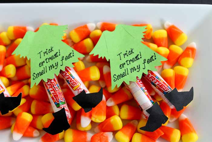 Halloween Candy, Witch candy