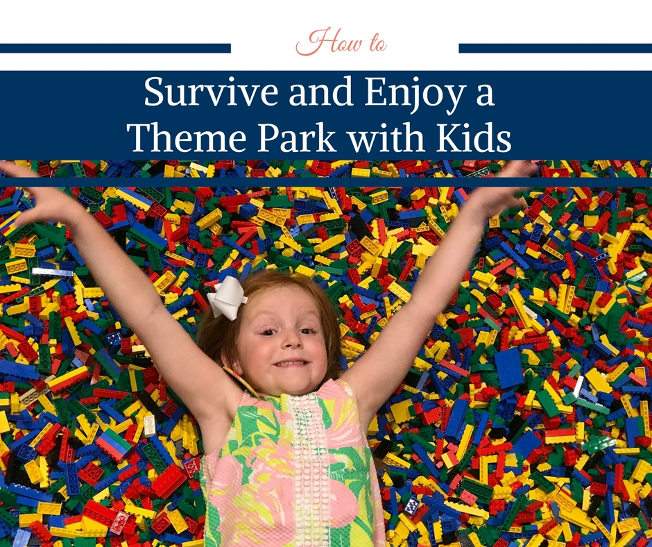 How to Survive and Enjoy a Theme Park with Kids