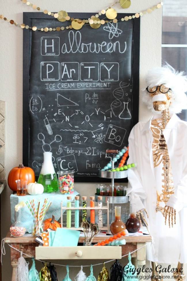 Rotten Candy Party, Mad Scientist Party, Halloween Kitten Party, Pick Your Poison Party, Halloween Party Inspiration