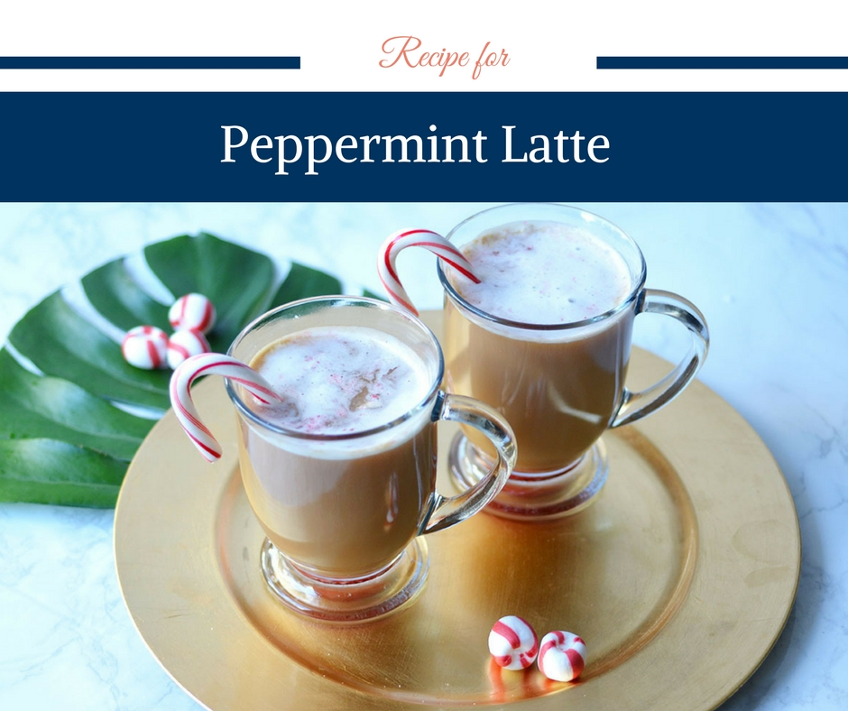 Recipe for Peppermint Latte