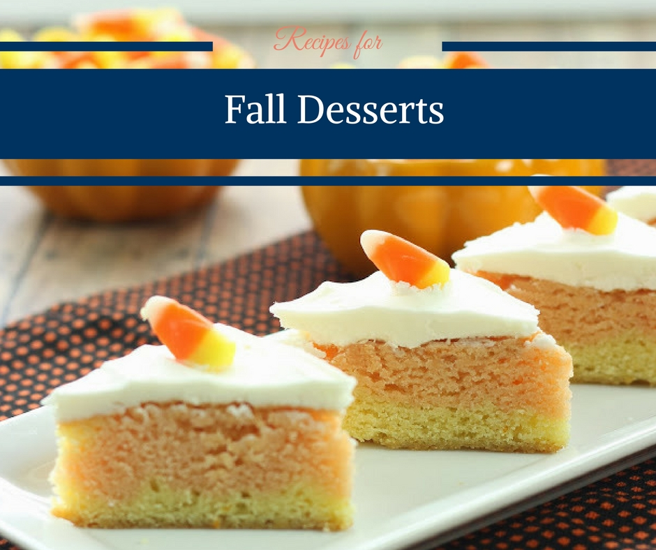 Recipes for Fall Desserts + Link Party