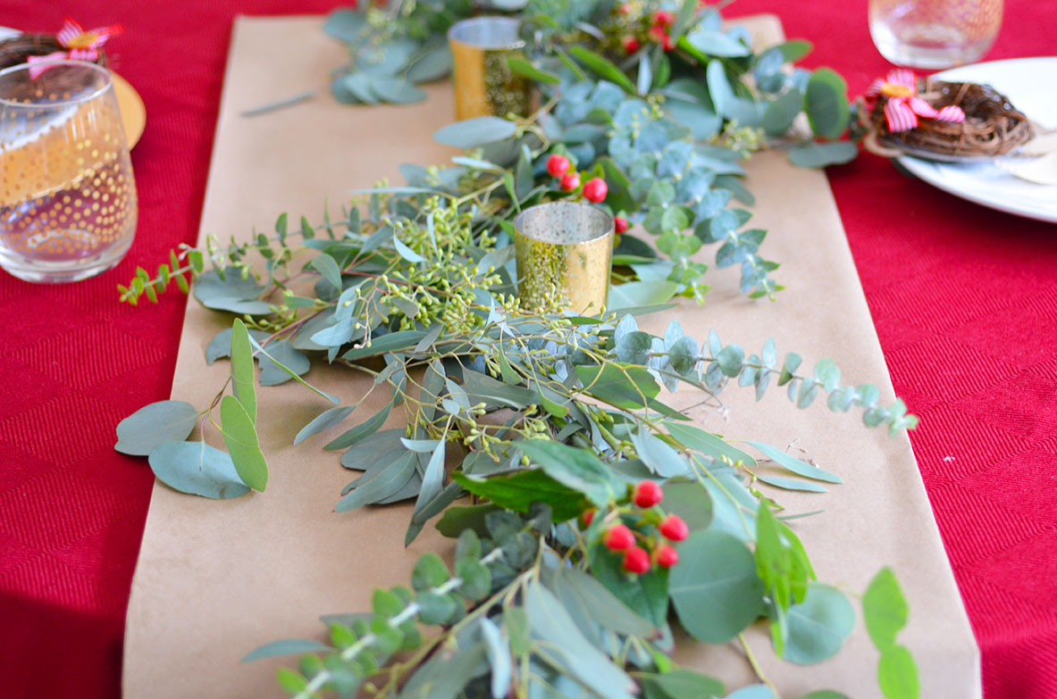 DIY How to Make Eucalyptus Garland