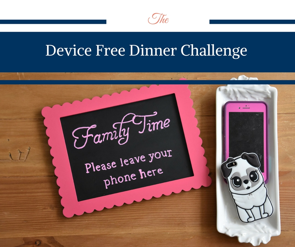 Device Free Dinner Challenge