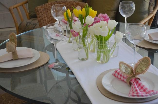 easter party, easter party themes, easter party food ideas, easter party decorations, easter party decoration ideas, easter dinner party, easter centerpieces, Easter tulips