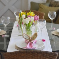 Easter Party and Recipe for Balsamic Brown Sugar Lamb Chops