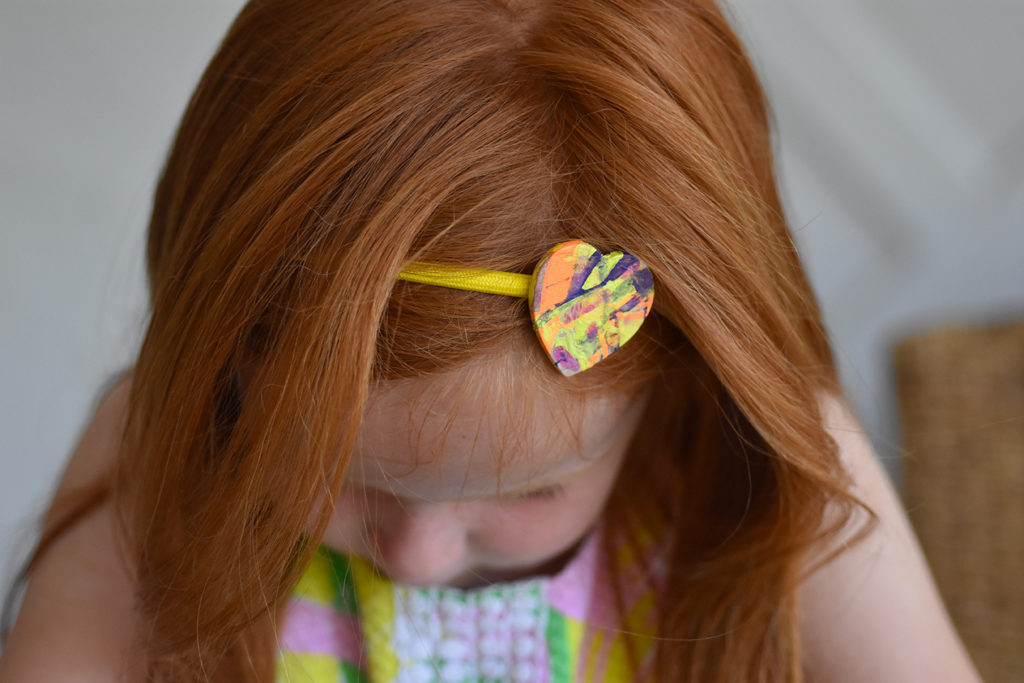 Marbleized Hair Accessories