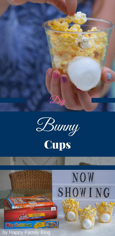 bunny cup craft