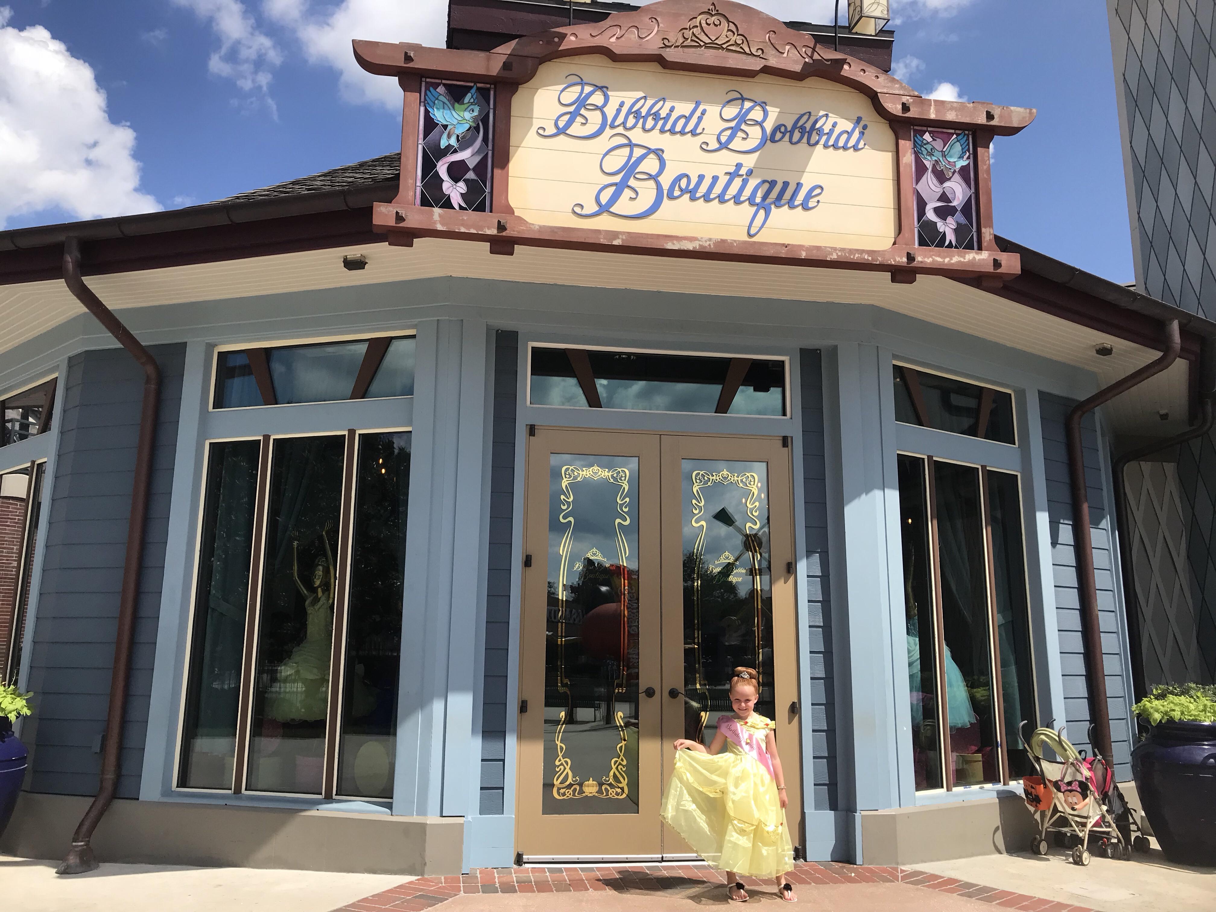 tips and tricks for bibbidi bobbidi boutique